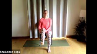 Chair Yoga, June 3rd 2021