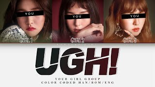 [YOUR GIRL GROUP] Ugh!; By BTS (Rap Line) [3 Members Ver.] || Saesong Cover ✿