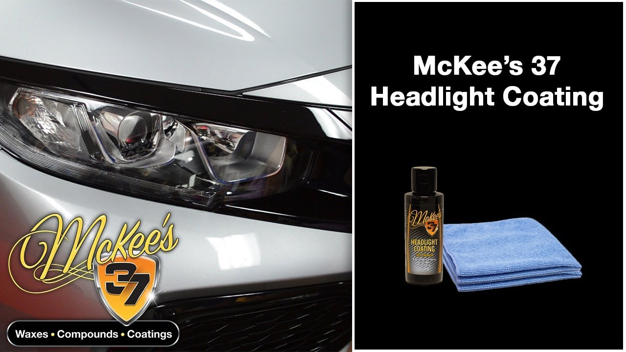 Ceramic Headlight Coating By Mckee S 37 Youtube