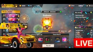 FREE FIRE - AO VIVO 🔥RANK PUSHING ? OR NOT || SOLO GAMEPLAY 🔥LIVE ON🔥
