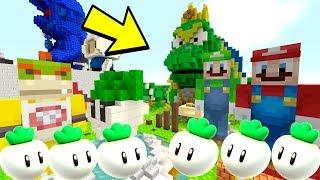 SUPER MARIO BROS 2 WART MINIGAME! | Mario