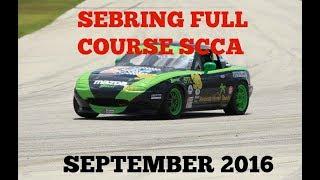 SCCA Sebring full course sept 2016