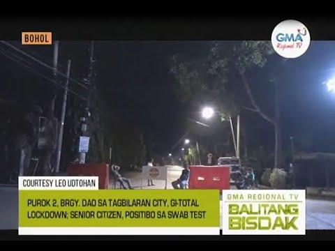 Balitang Bisdak: Lockdown sa Purok 2, Dao sa Tagbilaran City, Bohol