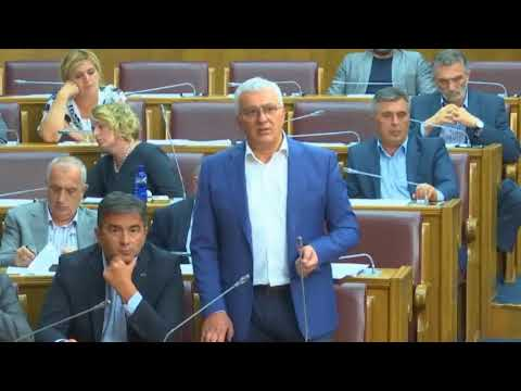 Mandić - Patrijarh Irinej je saopštio istinu, Skupština CG, 24.07.2018.