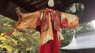 北口本宮冨士浅間神社・冨士太々神楽『神巫の舞』