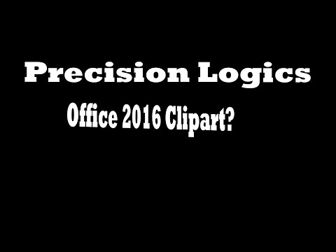 Office 2016 Clipart - Where did it go?