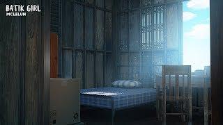 background animation painting bed batik