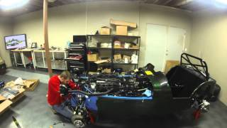 caterham 7 build time lapse