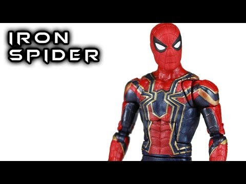 Marvel Legends IRON SPIDER Avengers Infinity War Thanos Wave Action Figure Review