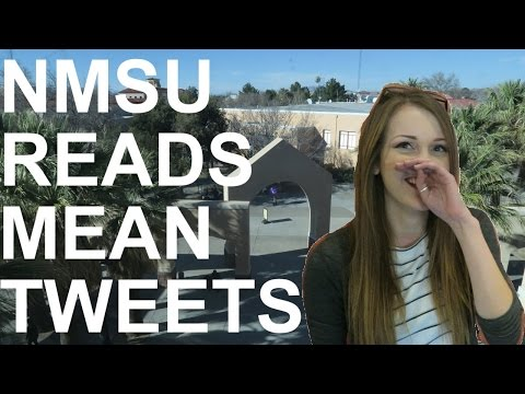 NMSU Students Read Mean Tweets
