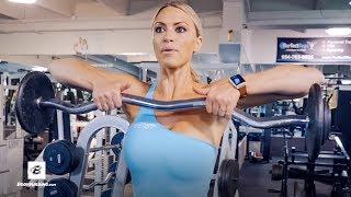 3 Favorite Shoulder Exercises   IFBB Bikini Pro Tabitha Campominosi