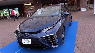 私の車ではありません。Hydrogen car コンセプトカーのTOYOTA FCV CONCE...