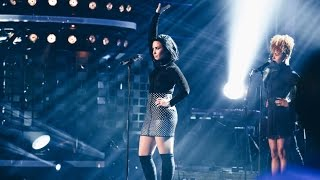 Demi Lovato - Confident Live on Swedish Idol - TV4