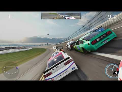 NASCAR Heat 4 Monster Energy at Talladega Geico 500 |