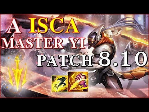 CONHEÇA O MASTER YI ''ISCA'' !! MASTER YI JG RANKED GAMEPLAY - League Of Legends - MatheusBT