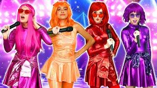 RAIN ON ME (MUSIC VIDEO). THE SUPER POPS TURN INTO VILLAINS? (Season 3 Episode 11 Part 2)