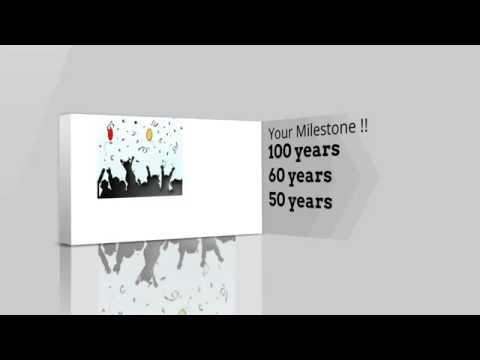 Celebrate your milestone...