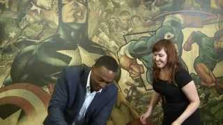 Marvel Charades With Captain America's Anthony Mackie