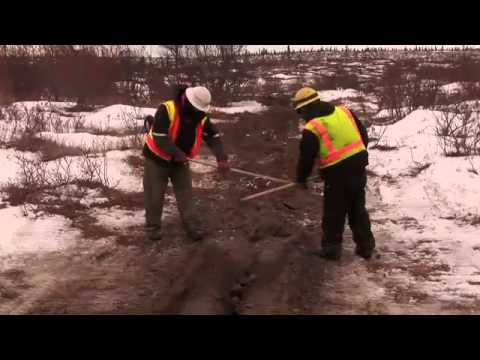 Video of Fiber Optic Cable Laying between Igiugig and Levelock