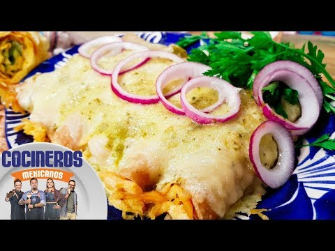 Recipe: Mexican Swiss Enchiladas