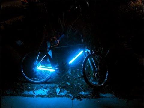 Своими руками подсветка на велосипед