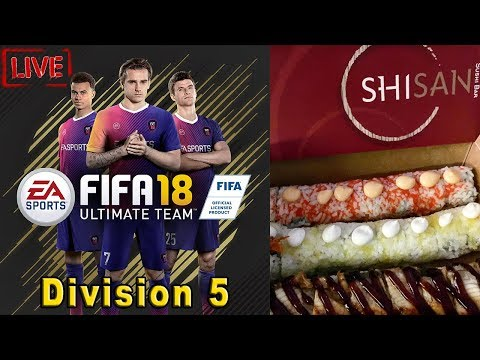 Fifa 18 Ultimate Team Division 5 Live