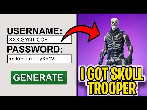 I Used A RARE Fortnite Account Generator And It ACTUALLY Worked...[NOT CLICKBAIT]