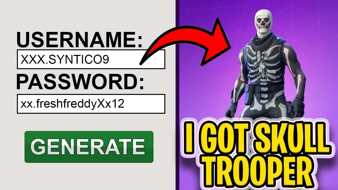 I used a RARE Fortnite account generator and it ACTUALLY worked   [NOT  CLICKBAIT]