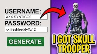 I used a RARE Fortnite account generator and it ACTUALLY worked... [NOT CLICKBAIT]