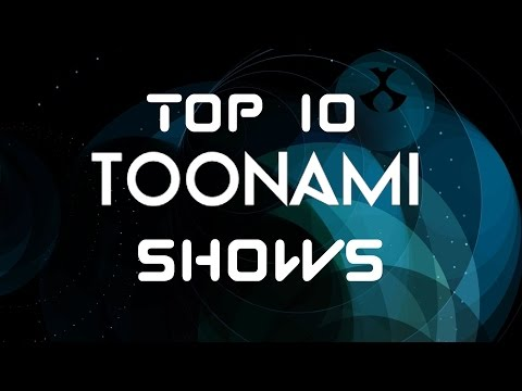 Top 10 Toonami Shows