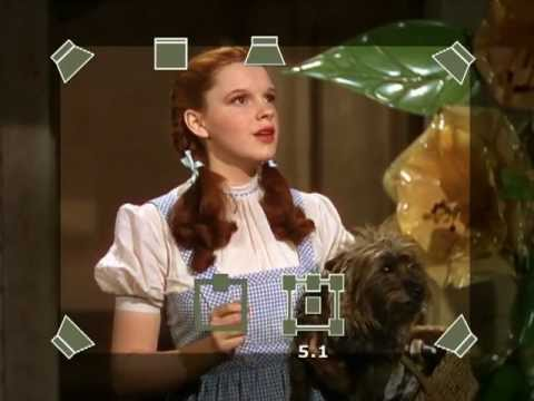 Remastering process of the movie 'The Wizard of Oz'