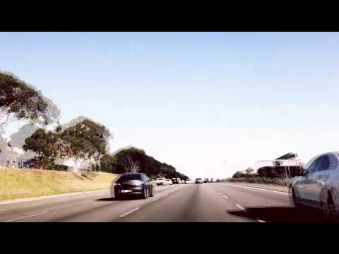 Driving test on iPhone - Mt. Waverly to Endeavour Hills - Monash Fwy