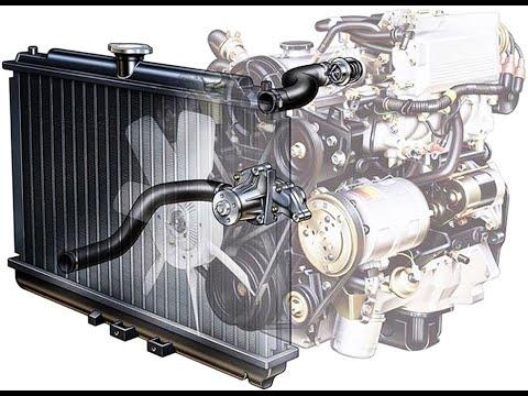 Вода vs Антифриз. Система охлаждения двигателя