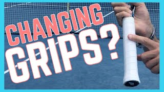 To Change or Not to Change Your Grip in Tennis?