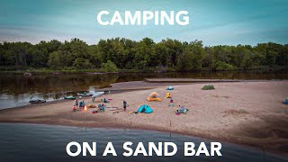 Our Annual Canoe Camping Trip - Wisconsin River 2020