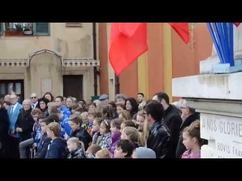 La Marseillaise par les écoliers de Saint-Jean Cap Ferrat