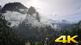 Mountain Majesty (Witcher 3) - DreamScene [Live Wallpaper] - Relax, Ambient - 4K