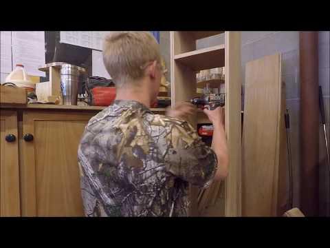 Making an Oak Gun Cabinet