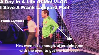 I save a frank lampard penalty (not clickbait) - day in the life of me! vlog.