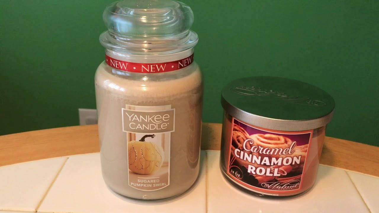 Sugared Pumpkin Swirl Yankee Candle Review New Fall 2017