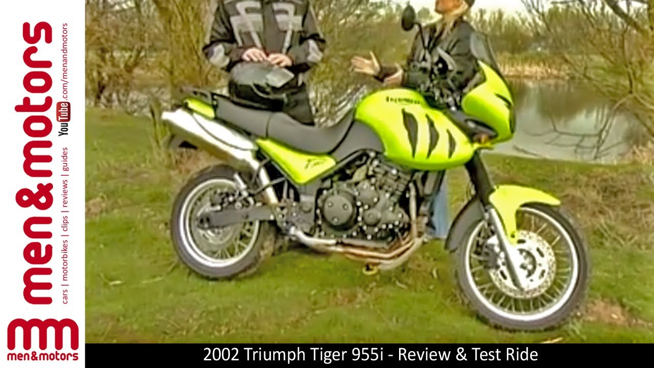 2002 triumph tiger 955i review test ride youtube. Black Bedroom Furniture Sets. Home Design Ideas