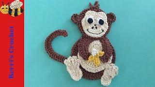 Crochet Applique Tutorials - Crochet Monkey