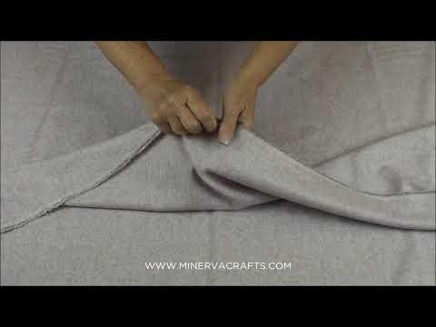 Polyester & Wool Herringbone Tweed Coating Dress Fabric