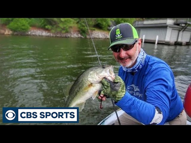 Trigger Post Spawn Bass With Lightweight Worms