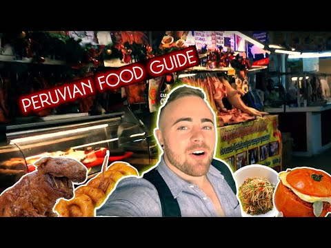 A Gringo's Guide to Peruvian Food