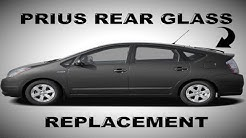 How To Replace a Rear Windshield 2004-2009 Toyota Prius