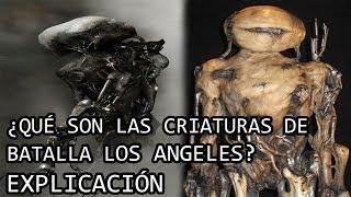 ¿Qué son las Criaturas de Batalla Los Angeles? EXPLICACIÓN   Los Aliens de Batalla LA EXPLICADOS