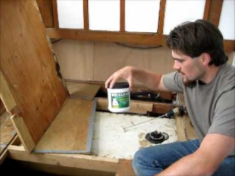 Removing Septic Tank Sludge From An RV Waste Tank