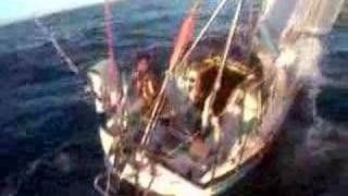 singlehanded sailing kitecam compilation