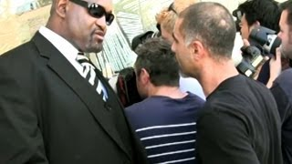 Kim Kardashian's Bodyguard Gets Into A Fight With A Photographer